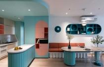Căn hộ 2 phòng ngủ đầy màu sắc của gia đình thích phiêu lưu tại Quận 10