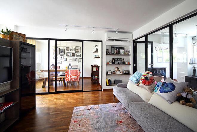 Cải tạo căn hộ chung cư theo phong cách mộc mạc sáng thoáng