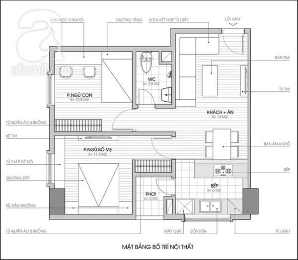 Sửa chữa cải tạo nhà, thiết kế cải tạo nội thất tận dụng tối đa không gian
