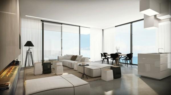 Sửa phòng khách đẹp cho căn hộ lớn đẹp lung linh