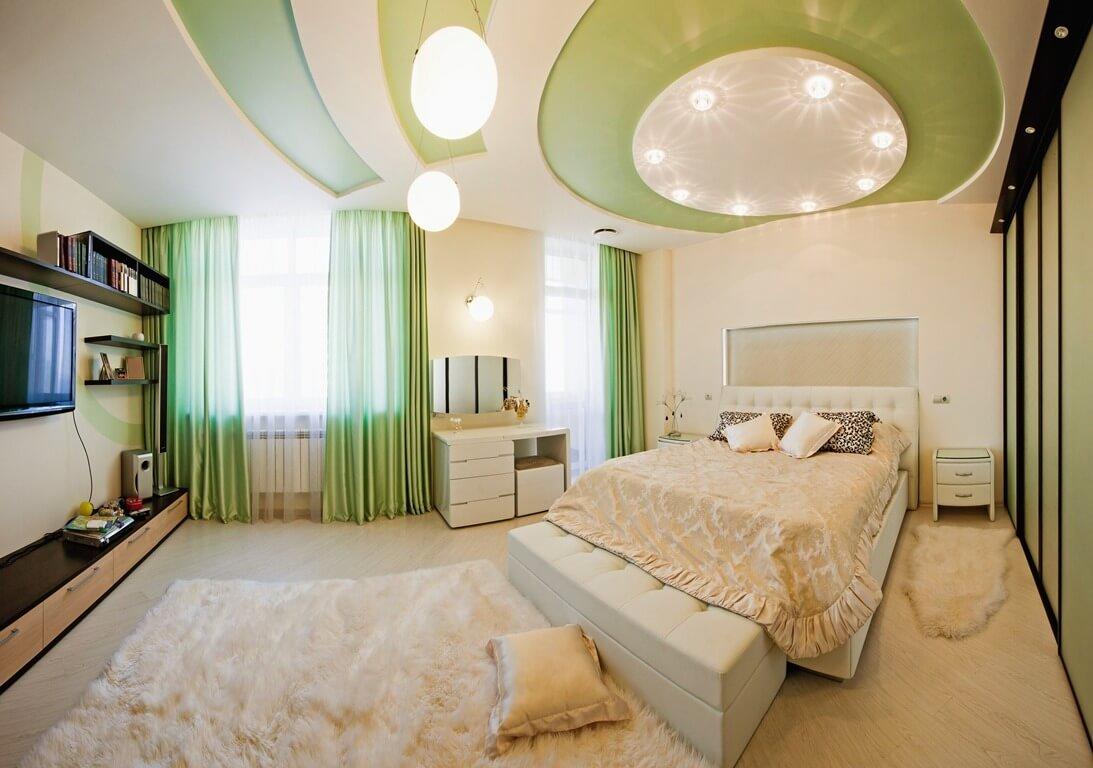 Thiết kế trần thạch cao cho phòng ngủ thêm sang trọng